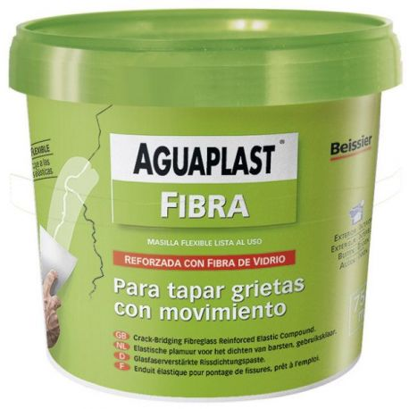 Masilla Aguaplast Fibra 750 ml Beissier