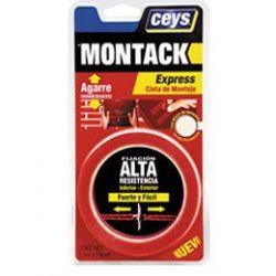 Montack Express Cinta Montaje Blister Ceys
