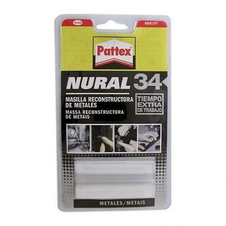 Nural 34 Masilla Recons Metales Pattex