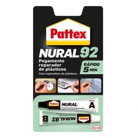 Nural 92 Reparador Plásticos Pattex