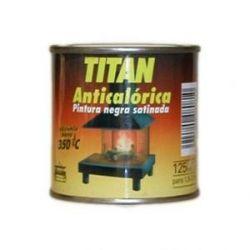 Pintura Anticalórica Negro Satinado Titanlux