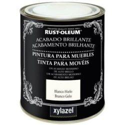 Pintura para Muebles Chalky Brillante Blanco Xylazel
