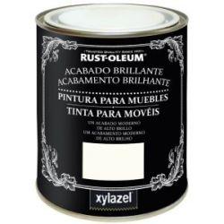 Pintura para Muebles Chalky Brillante Negro Xylazel