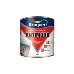 Pintura Plástica Antimoho Mate Blanco Bruguer