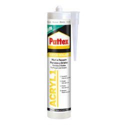 Sellador Acrilico Acril 1 300 ml Blanco Paredes Y Pattex
