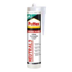 Silicona Henkel Neutra Pattex Neutral 3 Transparente