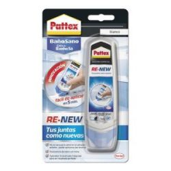 Silicona Pattex Re-New Juntas Baño Sano Pattex
