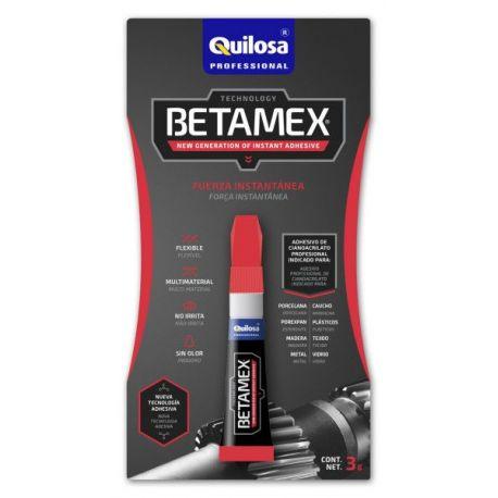Adhesivo Cianocrilato Betamex Quilosa