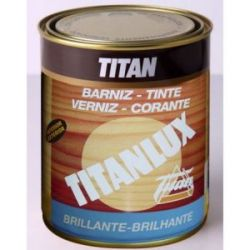 Barniz Tinte Brillante Castaño Titanlux