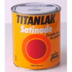 Titanlak Esmalte Satinado Blanco Titanlux