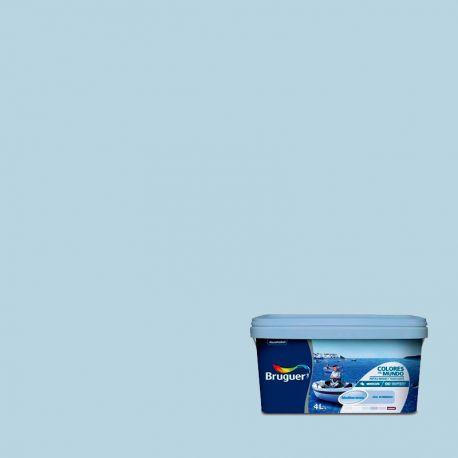 Pintura Plástica Mediterraneo Azul Bruguer intermedio