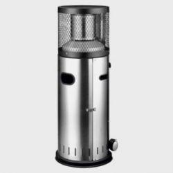 Estufa Exterior A Gas Mini Columna C/Ruedas 115 Cm