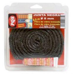 Junta Puerta Pyro Feu Negra Diam. 8 F/V