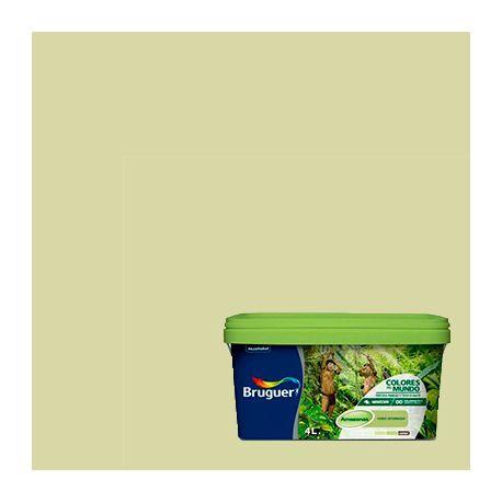 Pintura Plástica Amazonas Bruguer verde intermedio