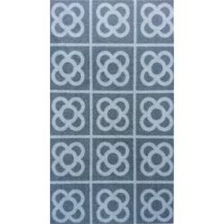 Alfombra Multiusos Lavable Rambla Gris 40X70