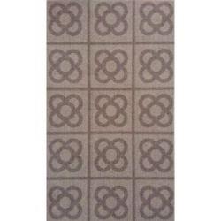 Alfombra Multiusos Lavable Rambla Marron 40X70