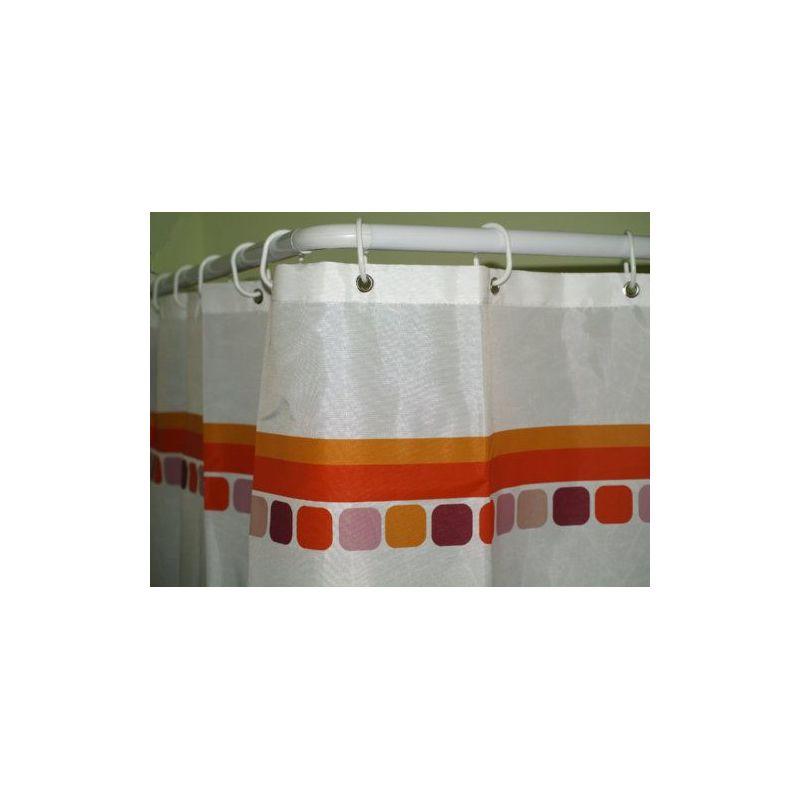 Epid Barra ducha curva 22m 80x180 blanca