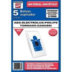 Bolsa Aspirador Aeg Electrolux 5 Unid Sintetica