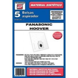 Bolsa Aspirador Mc7110-20-30 5 Unidades Sintetica