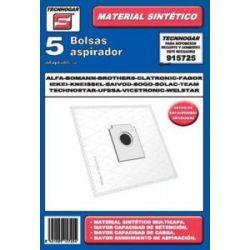 Bolsa Aspirador Solac 901-903 5 Unidades Sintetica