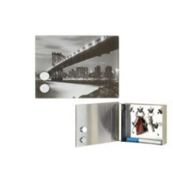 Caja Llaves Magnetica Puente Brooklyn 22X16X6