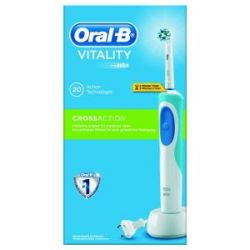 Cepillo Dental Vitality Cross Action Azul