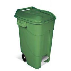 Cubo Jardin Eco Tayg con Pedal 120 L Verde