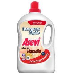 Detergente Liquido Marsella Asevi 3L