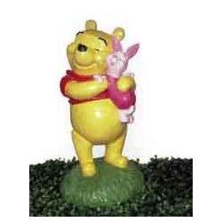 Figura Decorativa Winnie & Piglet 39 Cms