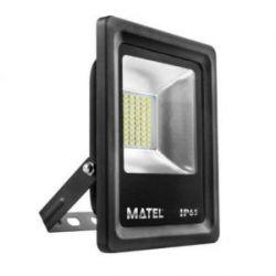 Foco Proyector Led Plano Luz Fria Ip65