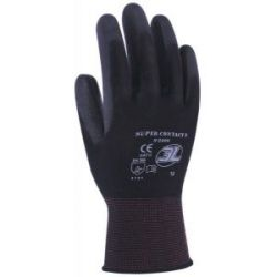 Pack 12 Guantes Supercontact N Poliester Palma Pu 8