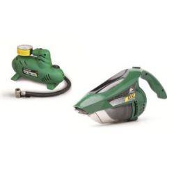 Minicompresor 12 V + Aspirador Coche 60 W 12 V