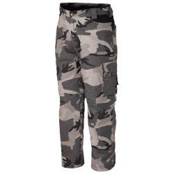 Pantalon Desmontable Multibolsillos Mimetico