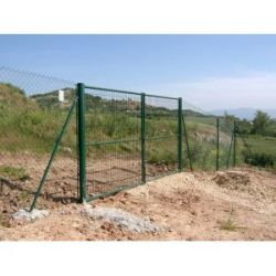 Puerta Verde 2 Hojas Tot.Ancho3M