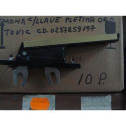 CREMONA PLETINA C/CERRAD. Ref. 6529 C/ORO
