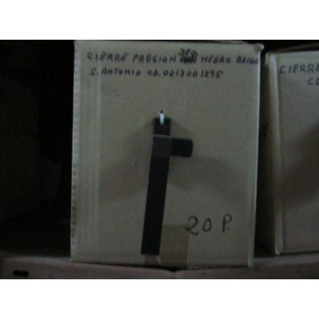 CIERRE PRESION IZD.NEGR.MAT.13022.5