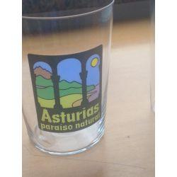 "Vaso Sidra Sella Grabado ""Asturias Paraiso Natural"" (Pack 6) - Modelo J"