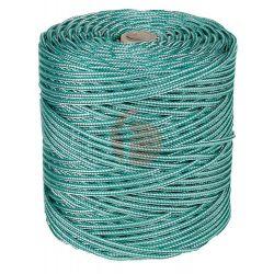 Cuerda Polipropileno 4Mm Texturada Ver/Blanca