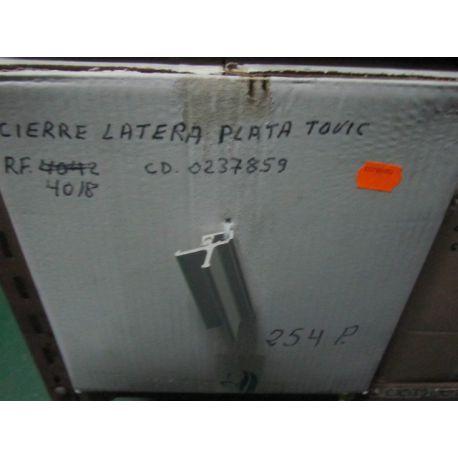 CIERRE LATERAL 4018 PLATA