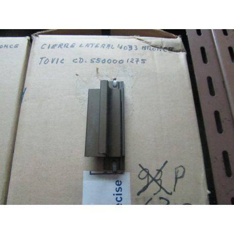 CIERRE 4033 BRONCE