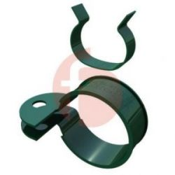 Abrazadera Quickfix Metalica Verde de Moreda 4 UNIDADES