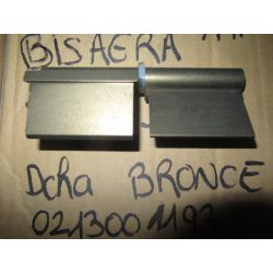BISAGRA S/L 120 DCHA BRONCE