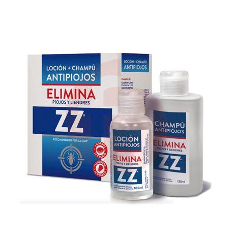 Loción Antipiojos Perfumada 100 ml y Champú 125 ml ZZ