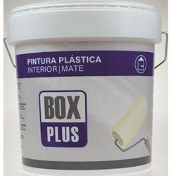 Pintura Plástica Interior Box Plus Blanco Mate