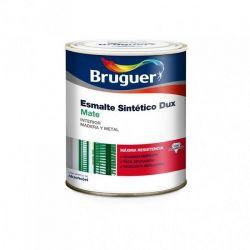 Esmalte Sintético Mate Negro Bruguer Dux