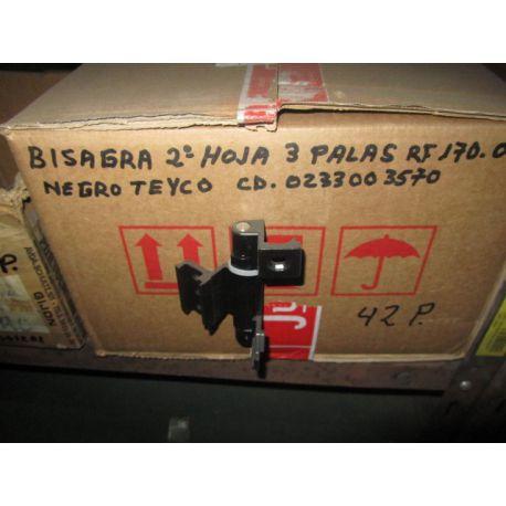 BISAGRA 2ª HOJA 3 P. NEGRO