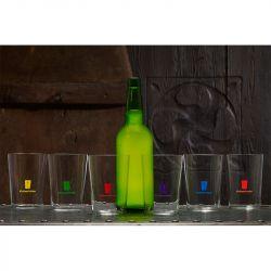 Vasos de Sidra de Colores