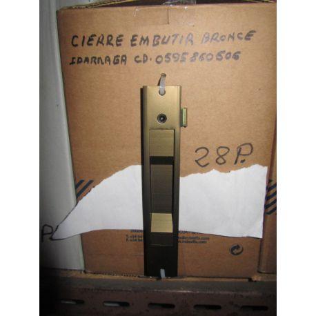 CIERRE EMB.GRN. C-23 BRONCE