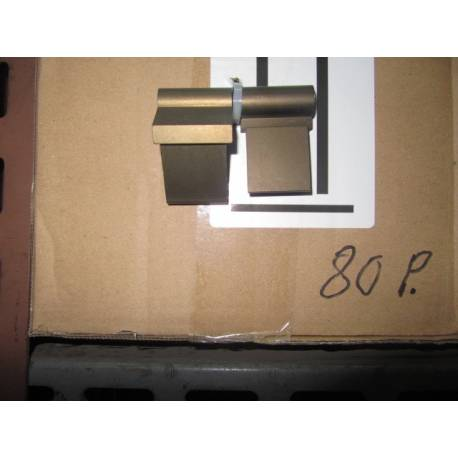 Bisagra aluminio para Ventana 70 mm. derecha