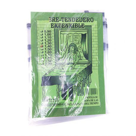 Cubre Tendedero Extensible 1,40